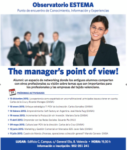 The manager's point of view